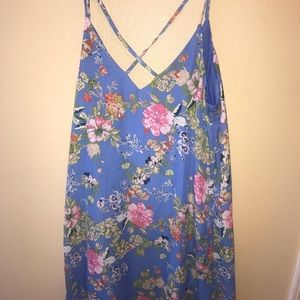 Xhiliration  floral dress